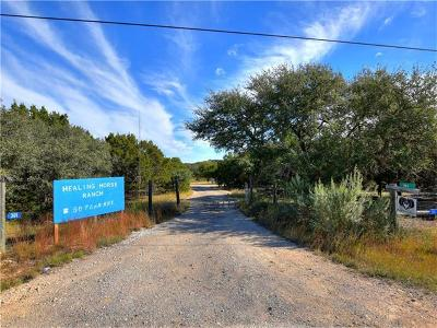 Dripping Springs Farm For Sale: 301 S Oak Forest Dr