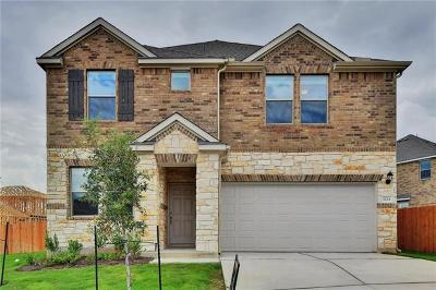 Leander Single Family Home For Sale: 1224 Hawk Feather Trail