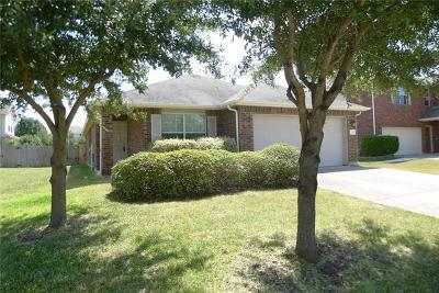 Leander Single Family Home For Sale: 130 Dove Song Dr