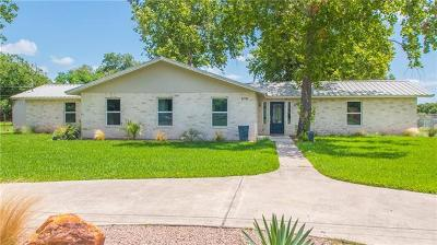 Marble Falls Single Family Home For Sale: 919 Colorado Dr