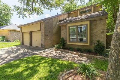 Round Rock Single Family Home Pending - Taking Backups: 2108 Zephyr Ln