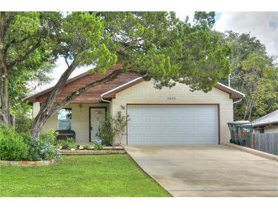 San Marcos Single Family Home Pending - Taking Backups: 1505 Franklin Dr