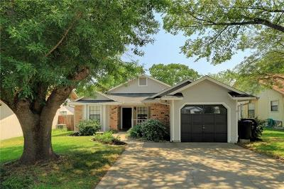 Round Rock Single Family Home Pending - Taking Backups: 2207 Stirrup Dr