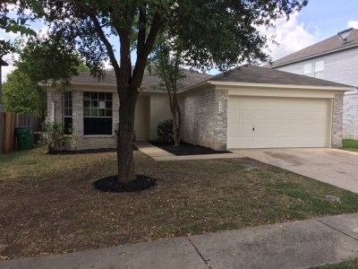 Pflugerville Single Family Home For Sale: 1224 Hughmont Dr