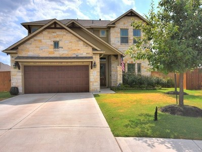Round Rock Single Family Home For Sale: 3385 Pablo Cir
