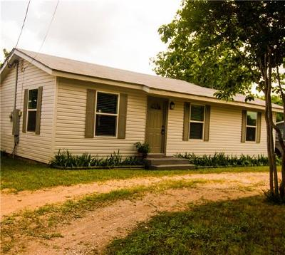 Burnet County Single Family Home For Sale: 905 Navajo Dr