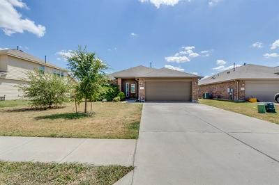 Hutto Single Family Home For Sale: 1107 Montell Ln