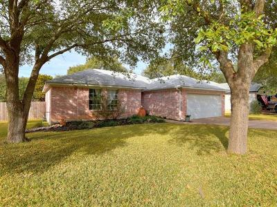 Cedar Park Single Family Home Pending - Taking Backups: 1403 Cedar Brook Dr