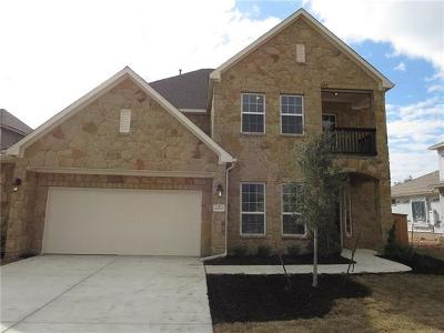 Cedar Park Single Family Home Pending - Taking Backups: 4300 Logan Ridge Dr
