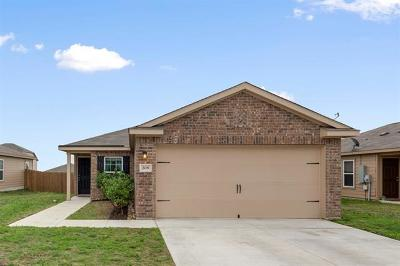 Jarrell Single Family Home For Sale: 208 Millers Loop