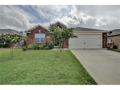 Manor Single Family Home For Sale: 13305 Nelson Houser St