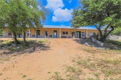 Wimberley Single Family Home For Sale: 2101 Montell Rd