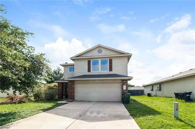 Hutto  Single Family Home For Sale: 405 Quail Hollow Dr