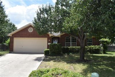 Leander Single Family Home For Sale: 901 Ridgerock Cv