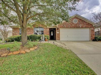 Round Rock Single Family Home For Sale: 4406 Meadowside Ln