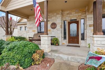 Burnet County Single Family Home For Sale: 107 Natalies Pt