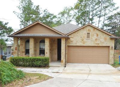 Bastrop Single Family Home For Sale: 122 S Kanaio Dr