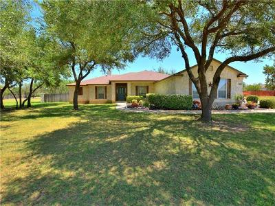 Liberty Hill Single Family Home For Sale: 116 Polo Pony