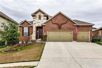Round Rock Single Family Home Pending - Taking Backups: 1147 Huntington Trl