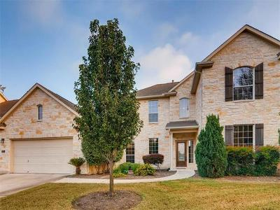 Cedar Park Single Family Home For Sale: 314 Water Oak Dr