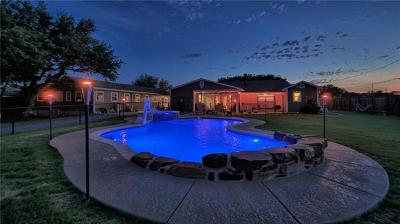 Leander Single Family Home For Sale: 1900 Mockingbird Ln