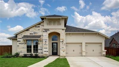 Leander Single Family Home For Sale: 425 Judge Fisk Dr