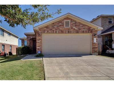 Pflugerville Single Family Home Pending - Taking Backups: 13321 Orourke Dr