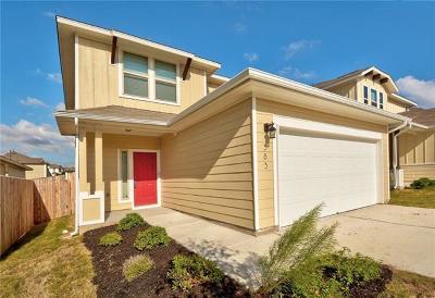 Buda Single Family Home For Sale: 383 Eagle Brook Ln