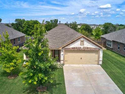 Round Rock Single Family Home For Sale: 8313 Reggio St