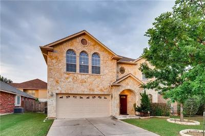 Cedar Park Single Family Home For Sale: 504 Glacial Stream Ln