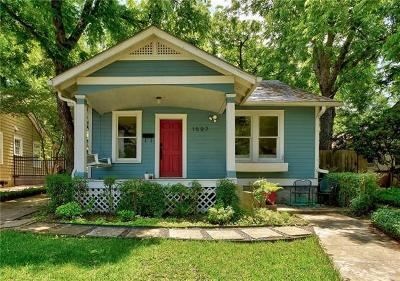 Austin Single Family Home For Sale: 1507 Wethersfield Rd