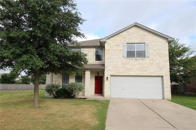 Hutto Single Family Home For Sale: 307 Lone Star Blvd