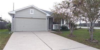 Del Valle Single Family Home Pending - Taking Backups: 11601 Arrowmound Pass