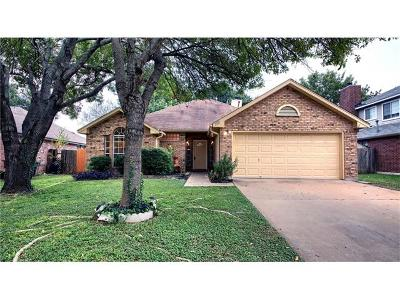 Travis County, Williamson County Single Family Home For Sale: 2207 Willow Way