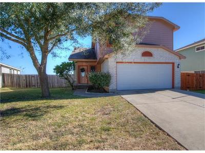 Pflugerville Single Family Home For Sale: 14425 Lemongrass Ln