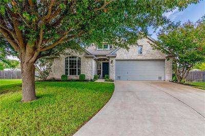 Pflugerville Single Family Home For Sale: 1700 Gypsum Ct