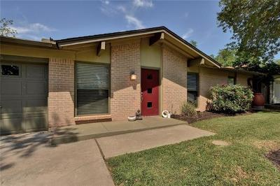 Austin Single Family Home For Sale: 2606 Cockburn Dr