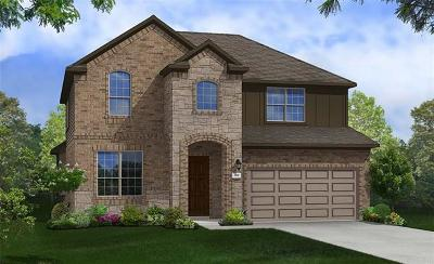 Round Rock Single Family Home For Sale: 5925 Toscana Trce