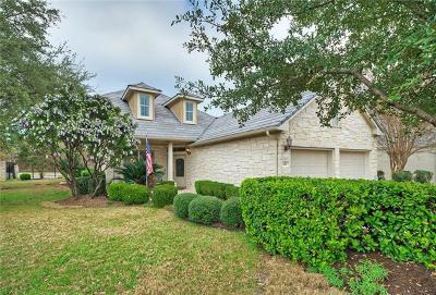 Austin Single Family Home For Sale: 103 Double Eagle Dr #103