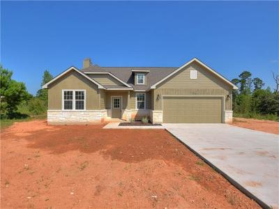 Paige Single Family Home For Sale: 254 Cardinal Loop