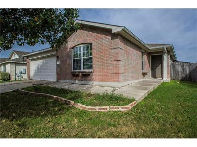 Hutto Single Family Home For Sale: 124 Rinehardt St