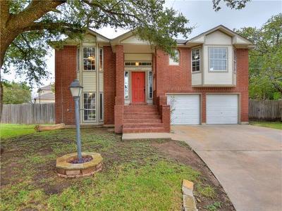 Pflugerville Single Family Home For Sale: 17207 Village Glen Cv