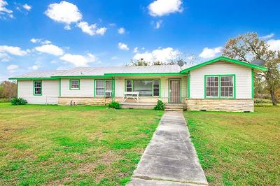 Bastrop County Single Family Home Pending - Taking Backups: 2809 Highway 21 W