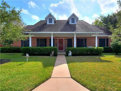 Austin Single Family Home For Sale: 2301 Pebble Beach Dr