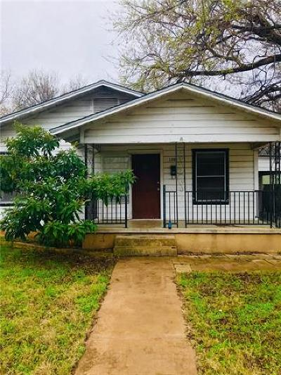 Single Family Home For Sale: 1203 Willow St