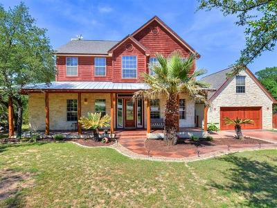 Wimberley Single Family Home Active Contingent: 45 Saddle Rock Rdg