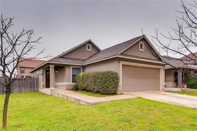 Del Valle Single Family Home Pending - Taking Backups: 5820 Alomar Cv