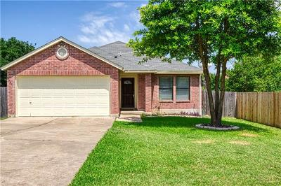 Round Rock Single Family Home Pending - Taking Backups: 3040 John Wilson Ln