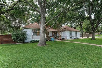 Round Rock Single Family Home For Sale: 2704 Carmel Dr
