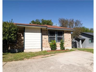 Pflugerville Single Family Home For Sale: 16048 Fitchburg Cir